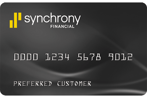 synchrony financial card free water test